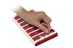 Schine Pill Box L lääkeannostelija suomenk. punainen 1 kpl